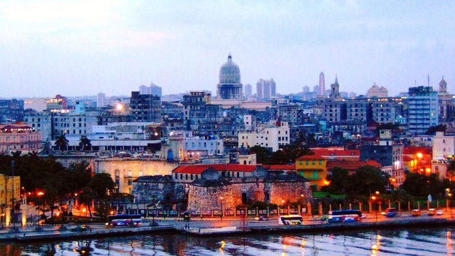 Cuba en mirador Cuba Politics And Government City Cityscape Urban Skyline Illuminated Skyscraper Snow
