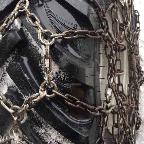 Wheel Snowchains Chain Metal No People Safety Connection Day Security Rusty Tied Up Old