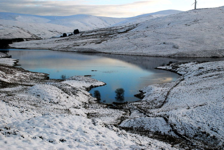 Perthshire, Scotland Reflcetions Reflections Of The Sky Beauty In Nature Blue Sky In Water Cold Temperature Day Iceberg Landscape Love Iceberg Where Mountain Nature No People Outdoors Reservoir Scenics Sky Snow Tranquil Scene Tranquility Water Winter
