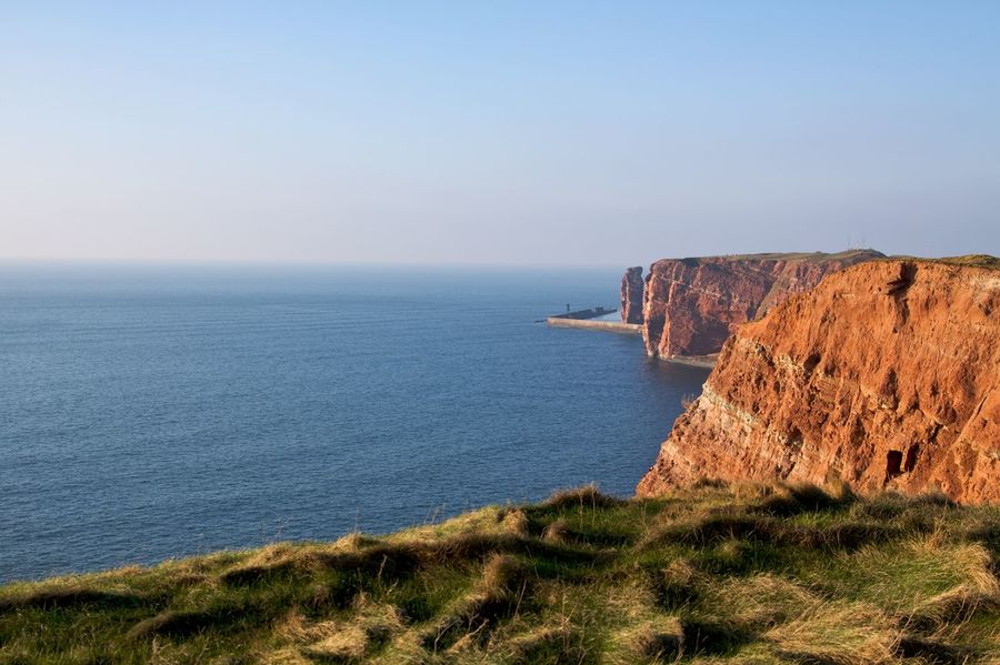 Helgoland Helgoland_Lange Anna Travel Photography Beauty In Nature Cliff Germany Helgoland_collection Island Landmark Naturelovers North Sea Red Sandstone Rock Formation Sea Travel Destinations