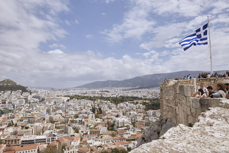 View of Athens Greece from the Acropolis. Acropolis Acropolis View Acropolis, Athens Architecture Athens Athens Greece Athens, Greece City City Life Cityscape Cityscape GREECE ♥♥ Greek Flag Lifestyles Mediterranean  Parthenon Parthenon Acropolis Greece Sky Tourism Tourist Town TOWNSCAPE Travel Destinations Vista