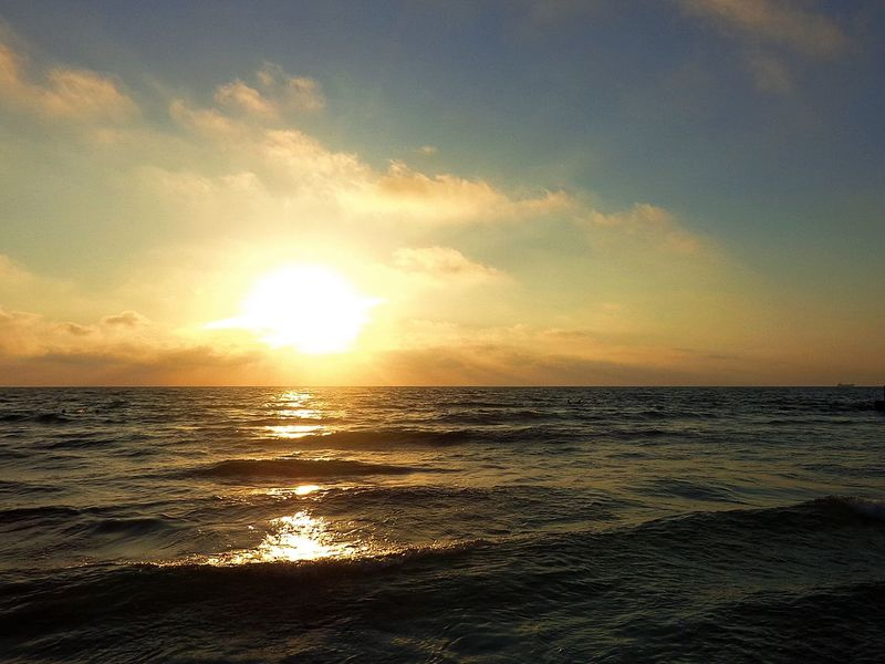 Sea and sunset, Cyprus Beach Beauty In Nature Cyprus Evening Horizon Over Water Nature No People Outdoors Relax Relaxing Moments Sea Sky Summer Sun Sunlight Sunset Water