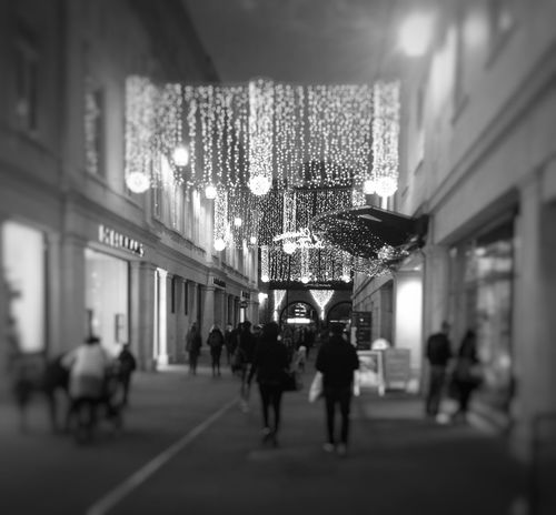 A walk around my hometown Shops People Watching People Christmas Lights Christmastime Hometown Busy Street Memories Captured By Iphone Black & White Blurred Motion Camera Practice Taking Photos Life I Love My World What People Do