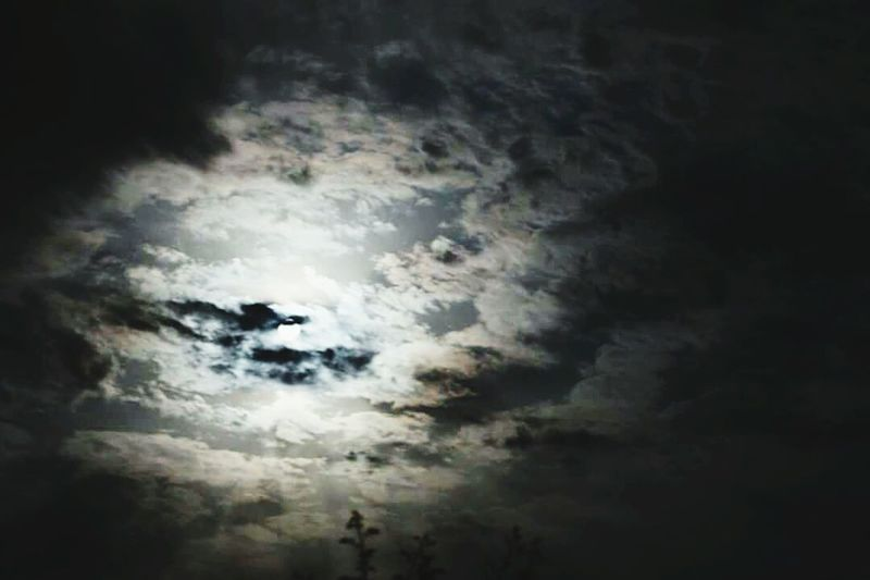 Cloud - Sky Nature No People Sky Scenics Outdoors Beauty In Nature Day Storm Cloud Moon Moonlight Cloud Nature Bright Moon