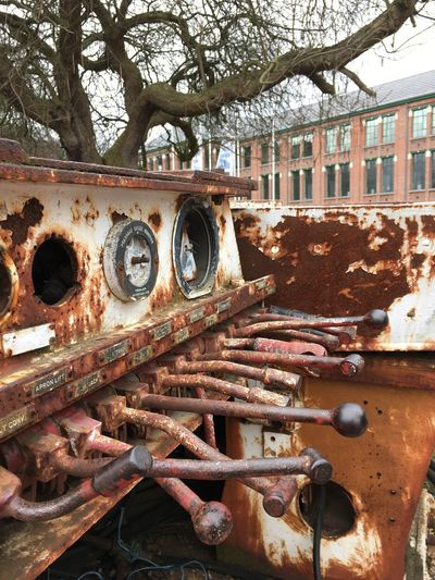 Abandoned Metal Rusty The Past No People Day Outdoors No Filter, No Edit, Just Photography No Filter First Eyeem Photo Old Machines Antwerp Belgium Tree Outdoor Photography