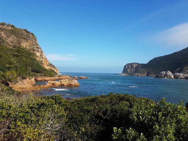 Knysna Heads Knysna South Africa Sea Nature Outdoors Water Beach Day Scenics