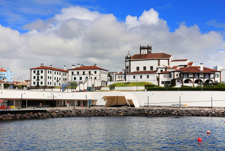 Architecture Azores Azores Islands City Cityscape Harbour Landmarks Ponta Delgada Portugal Sao Miguel Sao Miguel- Azores Travel Travel Photography Architecture Azores, S. Miguel Building Exterior Day Europe Island Landmark Outdoors Ponta Delgada Sao Miguel Residential Building Travel Destinations