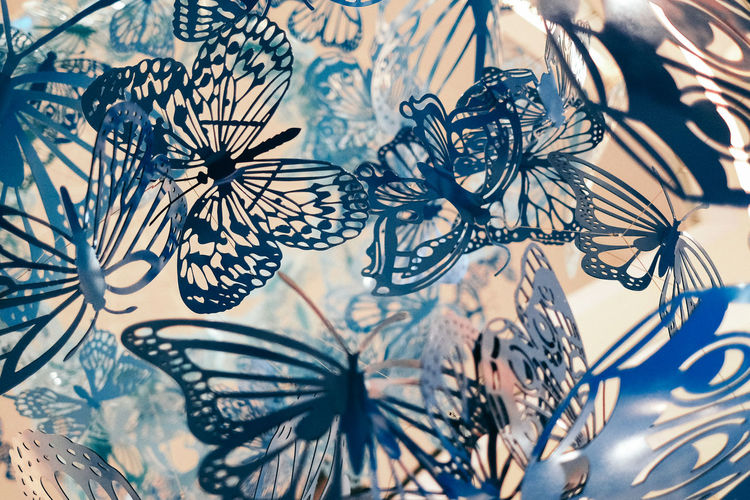 Still Life Complexity Dream Floral Pattern Vulnerability  Art And Craft Decoration Selective Focus Pattern Close-up Butterfly Background Dreamy Design Fragility Indoors  Springtime Decadence