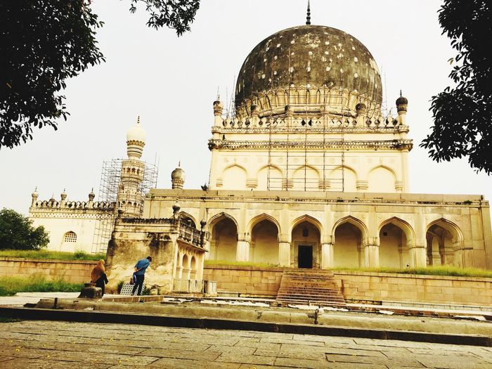 Indian Muslim Architecture India Islamic Architecture Muslim Ancient Structure Built Structure Building Exterior Architecture Tree Plant Religion History Tourism Travel