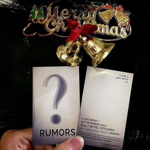 RUMORS? COME & JOIN WITH US! Bcc Bethelcitichurch Alive  Christmas celebrate . WHERE THE SOULS FIND HOME - BCC
