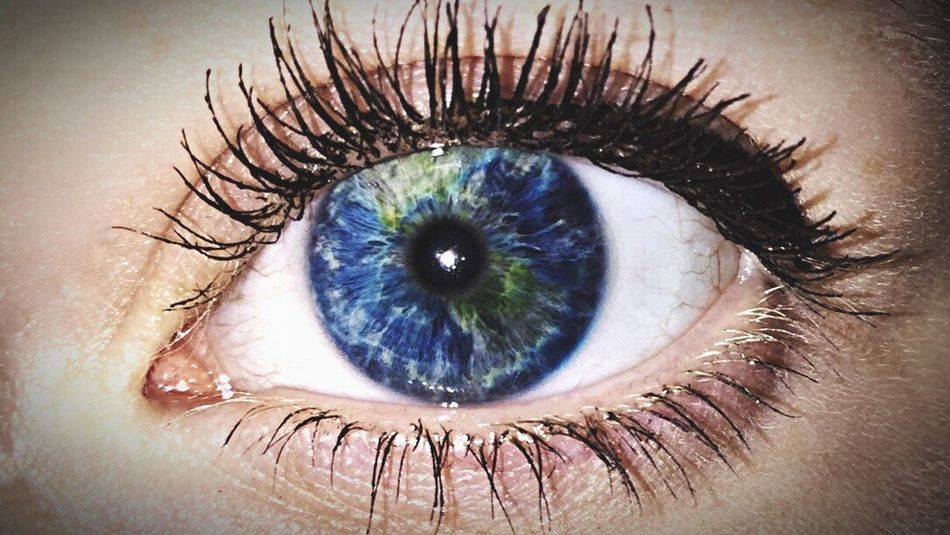 """We are the world, we are the children"" -Michael Jackson Double Exposure Eye Sensory Perception Macro Human Eye World"