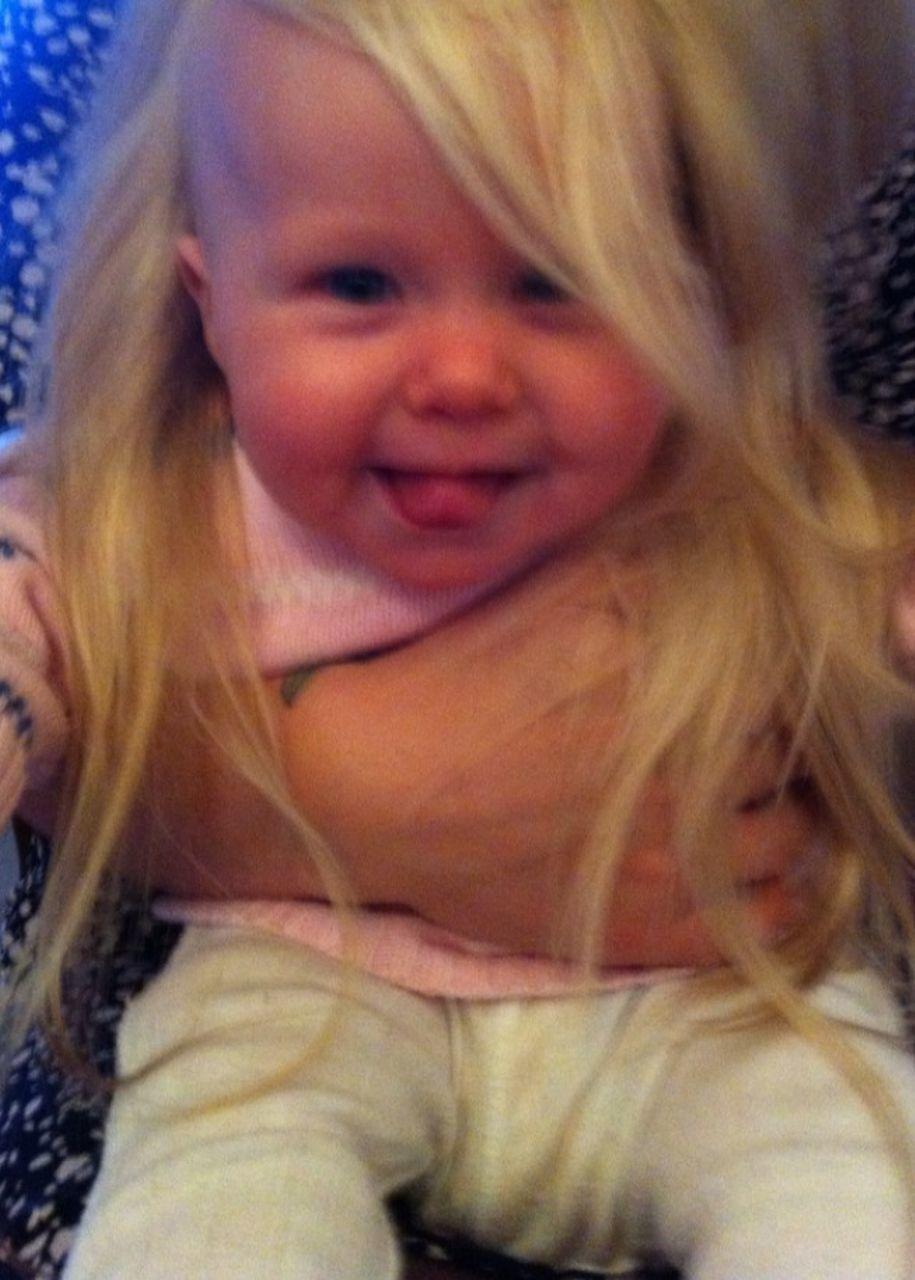 Portrait Of Happy Toddler