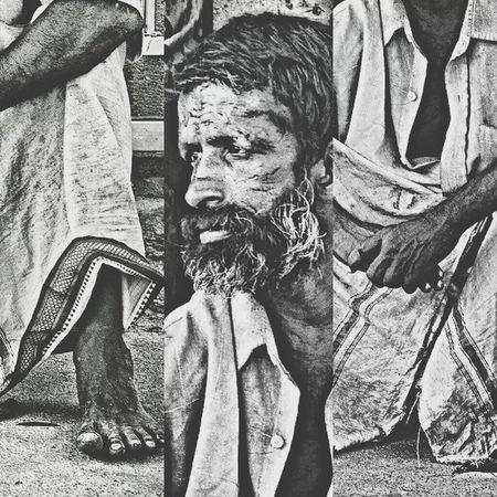 Street Wanderer The Wanderer Beggar HDR Blackandwhite