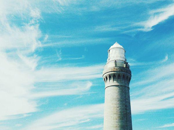 Lighthouse Blue Sky Sky_collection Sky And Clouds @ Tsunoshima Shimonoseki Japan