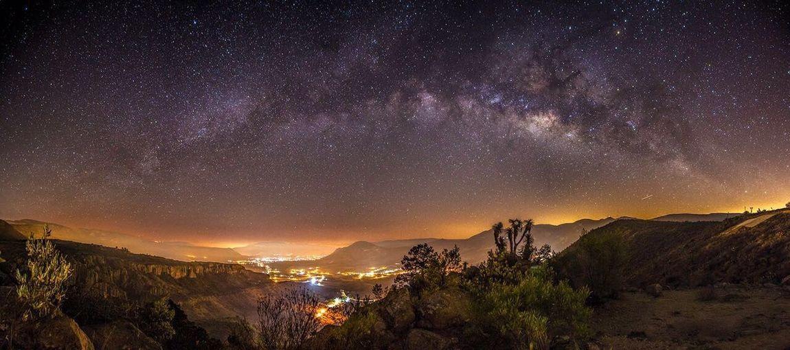 Milky Way over Tierra Blanca.