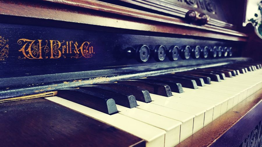 Vintage Piano Old Stuff Antique Priceless