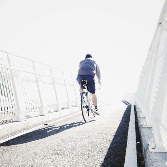 今天從淡水跑回景美,30公里。 Eye4photography Snapshot AMPt - Vanishing Point Streetphotography