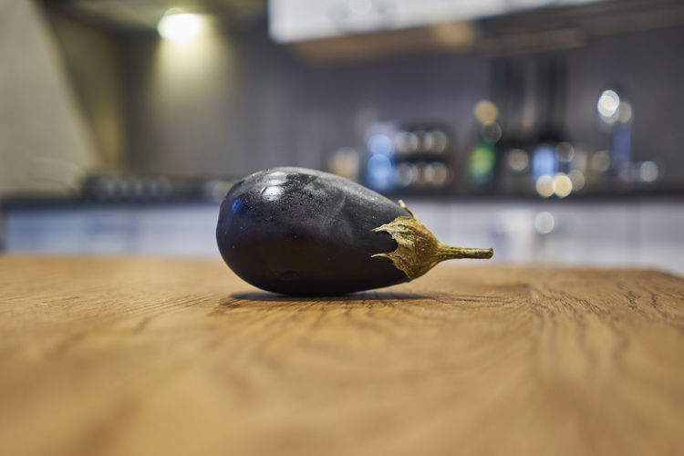 Close-up of fruit on table at home