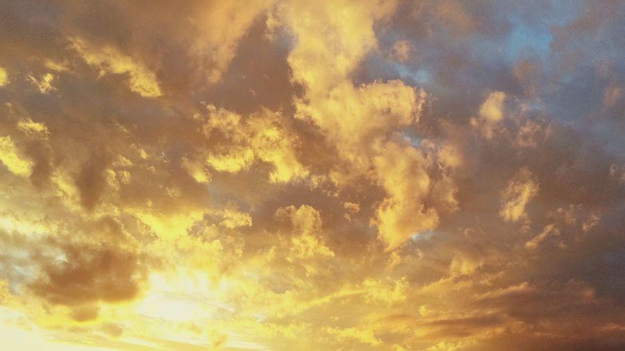 Sky above Belgrade