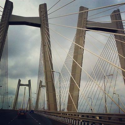 Bandra Worli Sea Link Mumbai Ssuppeerrbb Clicked Thunderstome Weather Enjoy the Link Road Enjoyment ...