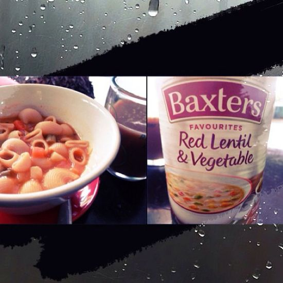 My Gloomyday  Snack ;) Redlentil Vegetable baxtersyum