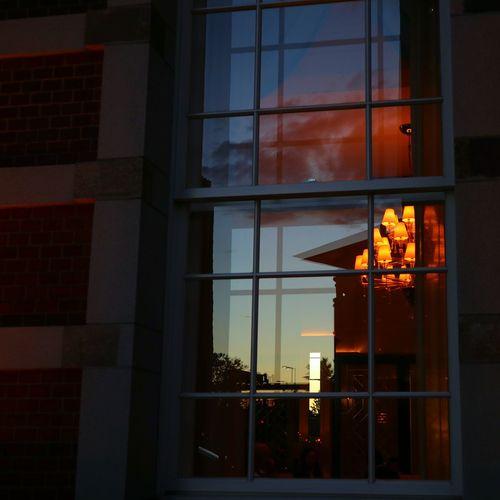 東京ステーションホテル Tokyo Station Hotel Sunset Sky Reflection Window Flame Architecture Building Exterior Built Structure