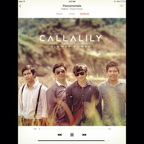 Music soothes me. @keanedward 's voice does just that. I love this song. Callalilyband Callalily Pansamantala Soothing music perfection