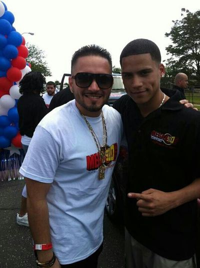 Frankie Ruiz Jr. And I.