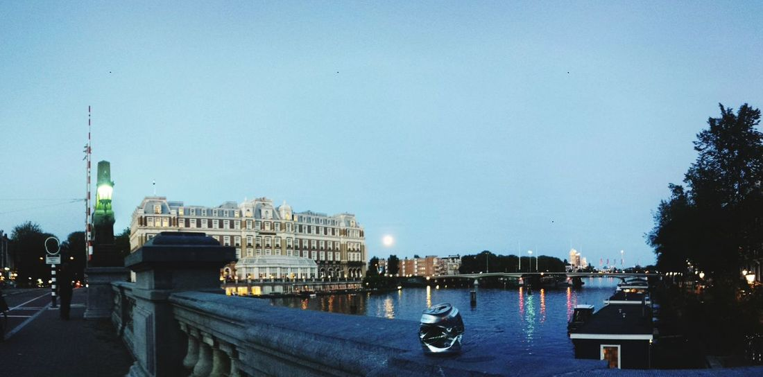 Amsterdam River Amstel Full Moon EyeEm Best Shots