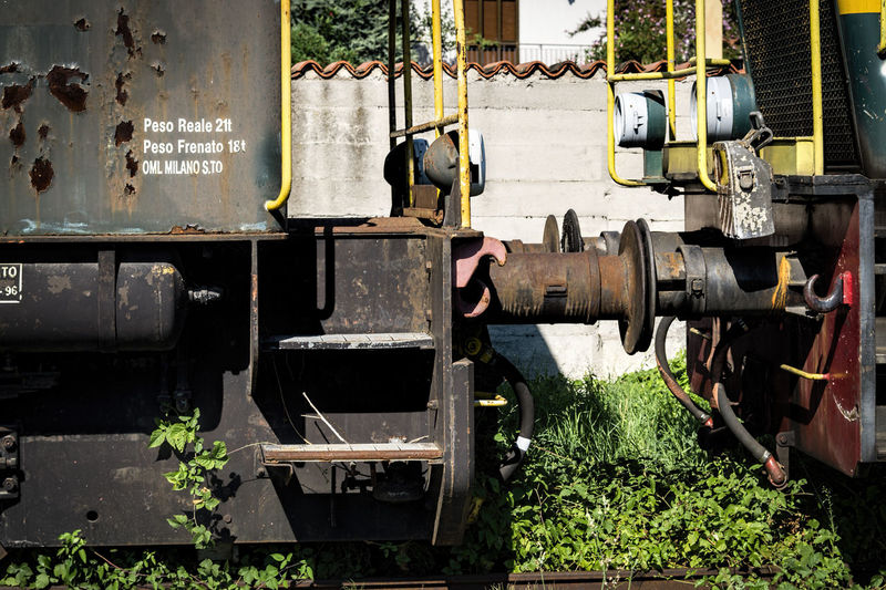 Bad Condition Damaged Deterioration Dirty Messy Obsolete Run-down Train Bumpers