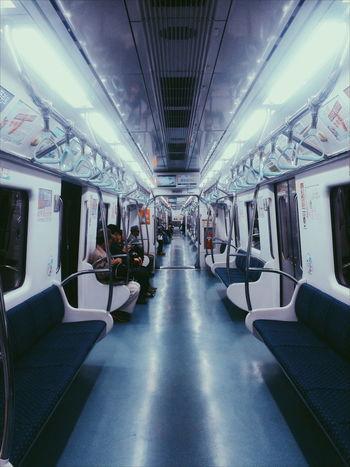 Human Meets Technology 160501 Subway Subway People First_train