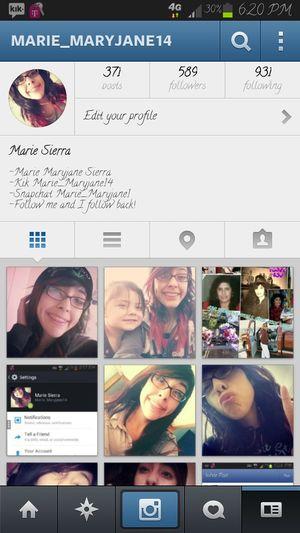 follow me on instagram Marie_maryjane14