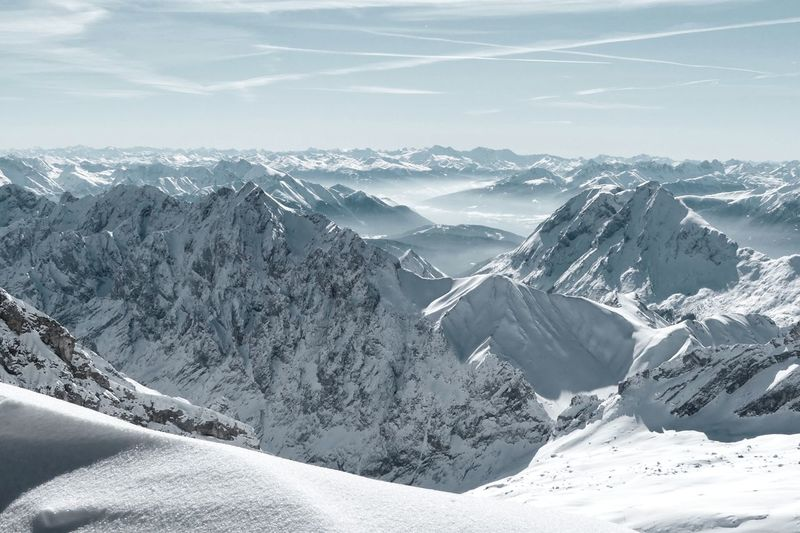 Mountains Dramatic Landscape Silence View From Above Cold Temperature Light And Shadow Power In Nature Backgrounds Cloud - Sky Betterlandscapes Nature Enjoying The Moment Magic Tranquility Scenics Scenic Landscapes Quiet Moments Bavarian Alps Alps Bavaria Aerial View Aerial Mountain Snow Cold Temperature Winter Snowcapped Mountain Landscape Mountain Range Travel My Best Photo