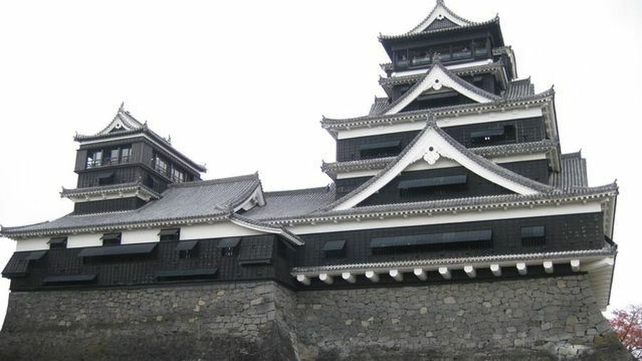 History Architecture Travel Destinations Built Structure Building Exterior Politics And Government People Day Politics One Person Real People Outdoors 熊本城 熊本 日本 Japan 歴史