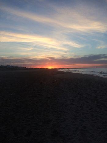 Beach Sea Sunset Mediterranean  Saidia Morocco Sky Cloud - Sky Cloud Calm Live For The Story