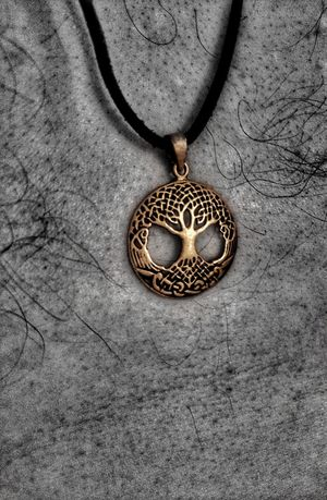 Close-up Tree Of Life Yggdrasil Colour Of Life Viking Art Vikingworld Viking Tree Tranquility 9 9 Worlds Bronze Necklace Norse Mythology Norse Hdr_Collection Black And White With A Splash Of Color Hdr_edits Black And White With A Hint Of Colour Religious Icons Religion And Tradition Religion And Beliefs Mithology