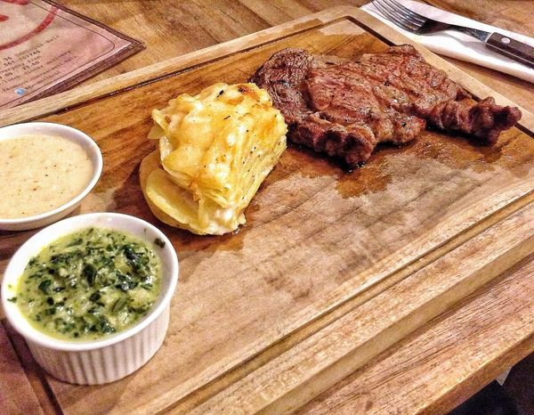 Rib Eye Steak Meat Juicy Steak Ribeye Steak