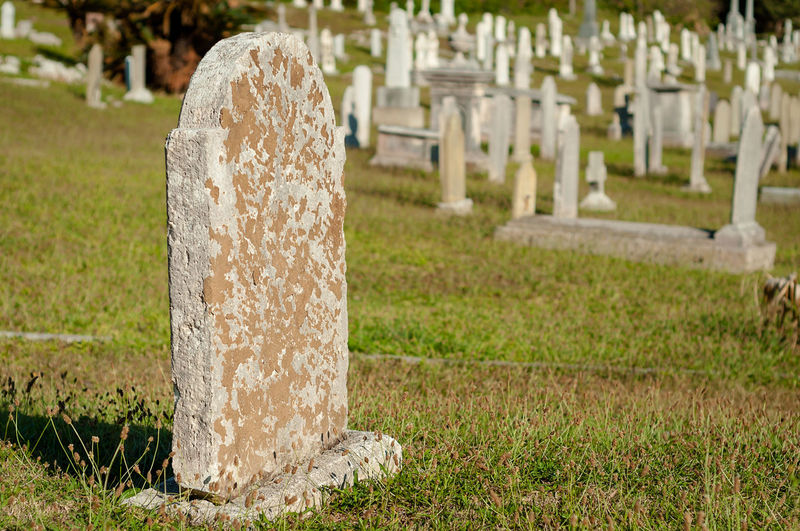 Tombstone at