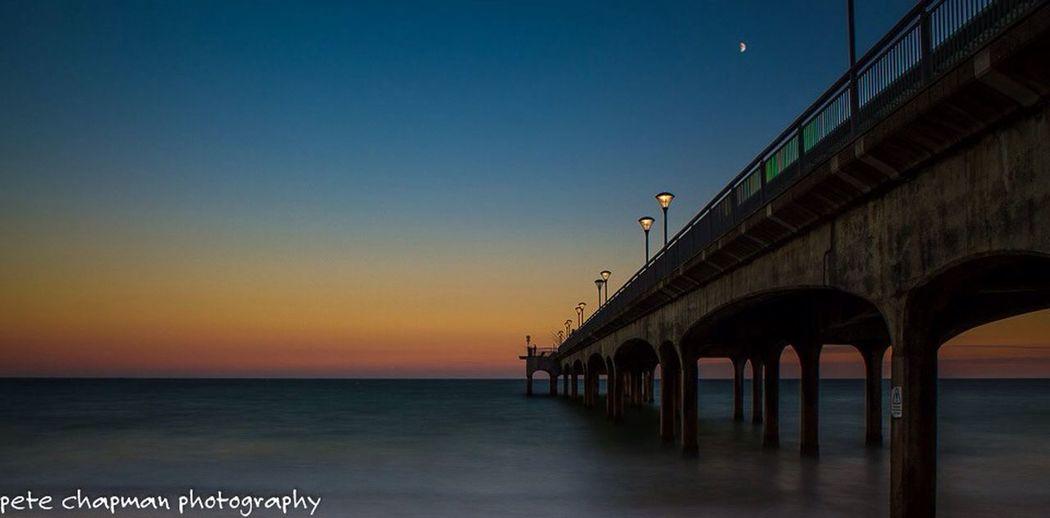 Boscombe Pier  Sunset Long Exposure