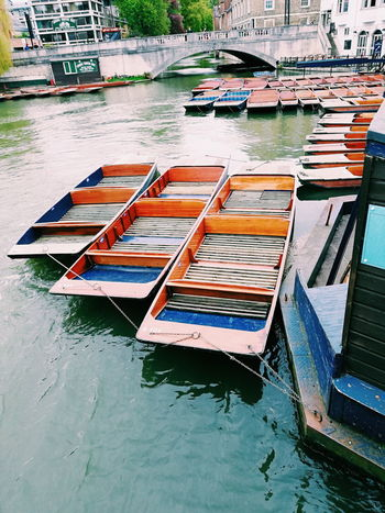 #Cambridge #EyeEmNewHere Water Nautical Vessel Moored Reflection Waterfront First Eyeem Photo