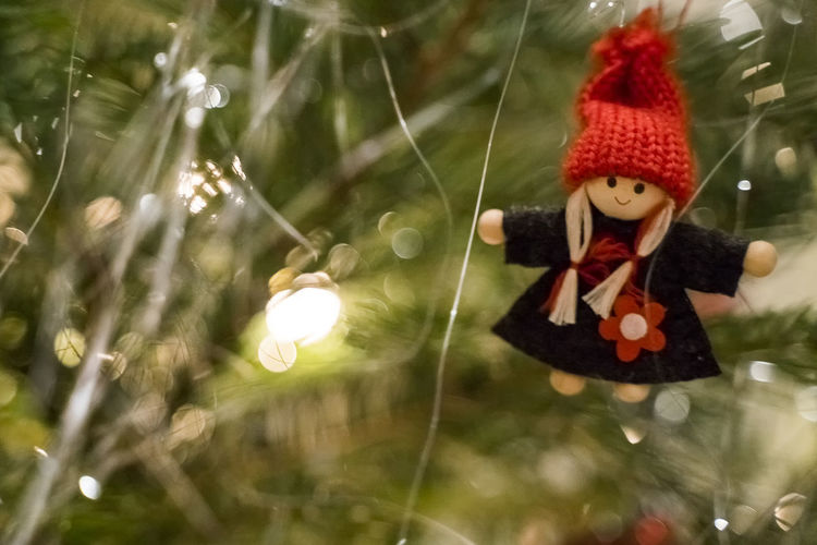 christmas time Toy Hanging Holiday Representation Tree Christmas Decoration No People Celebration Plant Close-up Art And Craft Nature Human Representation Selective Focus Christmas Decoration Day Focus On Foreground christmas tree Christmas Ornament