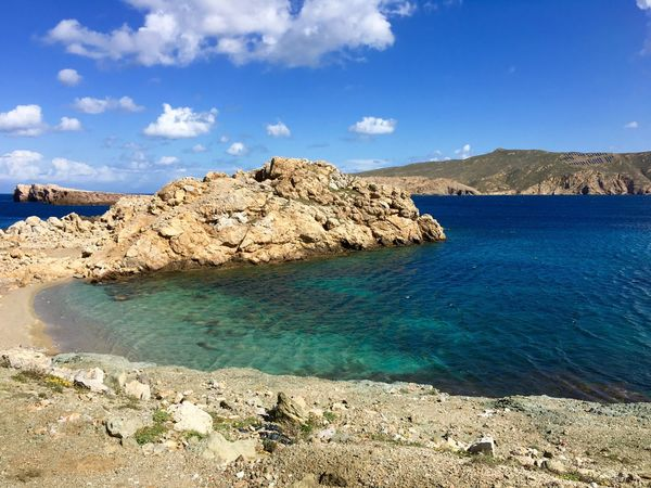 Landscapes With WhiteWall Blue Water Blue Sea Water Ocean Scenic Landscape Mykonos Beach Nature Greece Ocean View