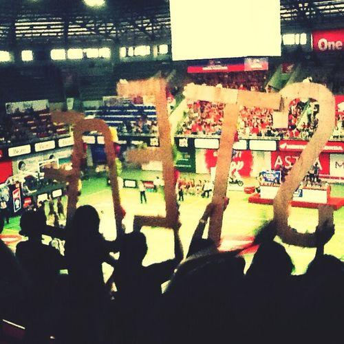 STECE emang kebanggaan banget, going to final DBL yes ;) Basketball Supporting My Team