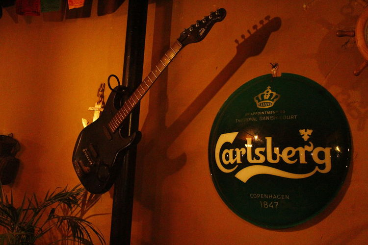 Rocknroll Carlsberg Special Brew Hanging Out Life = Music = Life