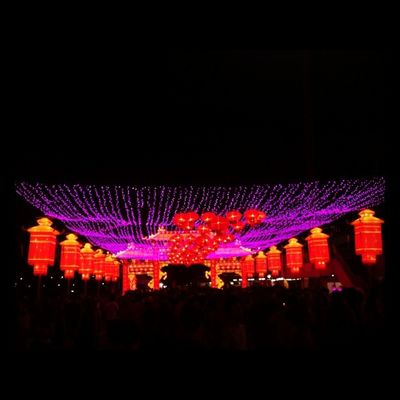 Love the lights here ASIA Yearofthehorse Singapore