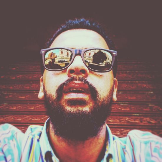 Sunglasses Portrait Beard Day Self Portrait Market Bestsellers 2017 Be. Ready. EyeEm Ready   EyeEmNewHere Fashion Stories Business Stories An Eye For Travel Adventures In The City