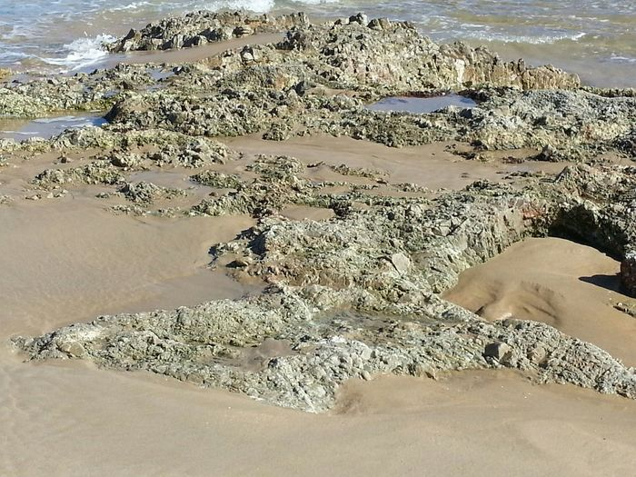 Seawater Rocks And Water Face In Sand? Beautiful ♥ Seasand Seasand And Rocks