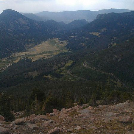 Almost at the top of the Rocky mountains Rockymountains Longwayup Longwaydown Worth it Colorado esteespark