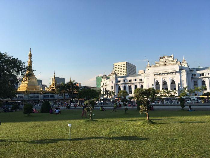 Park in Yangon