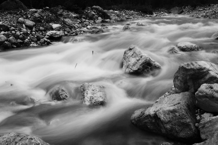 Theth Albania Albania Theth River Long Exposure